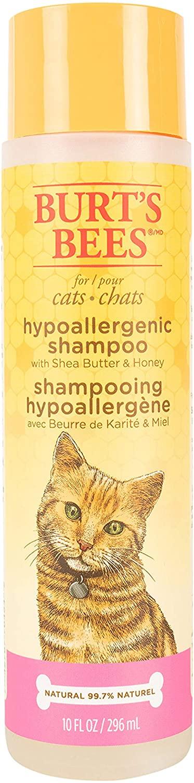 Burt's Bees Hypoallergenic Cat Shampoo, 10-oz bottle