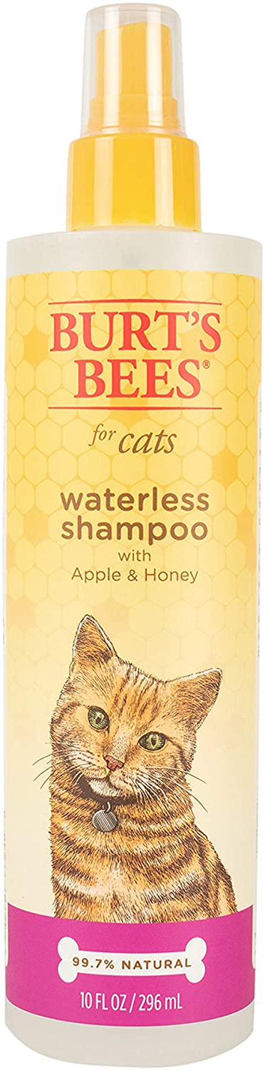 Burt's Bees Waterless Shampoo for Cats, 10-oz bottle