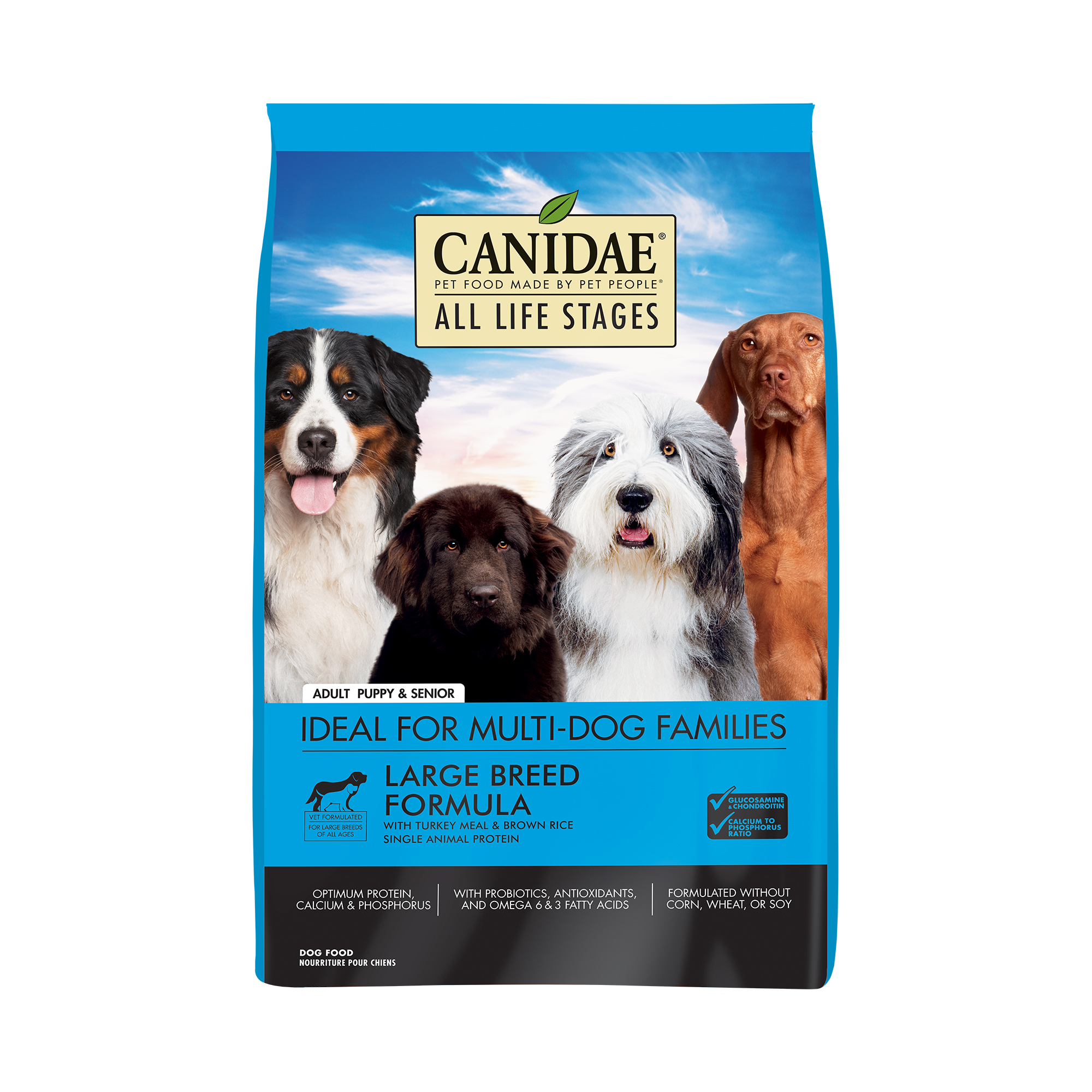Canidae All Life Stages Turkey Meal & Brown Rice Formula Large Breed Dry Dog Food, 30-lb bag