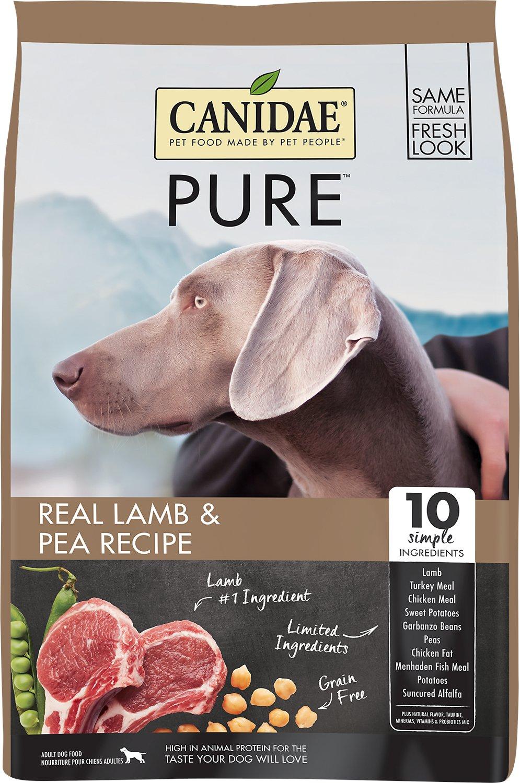 Canidae Grain-Free PURE Real Lamb & Pea Recipe Dry Dog Food Image