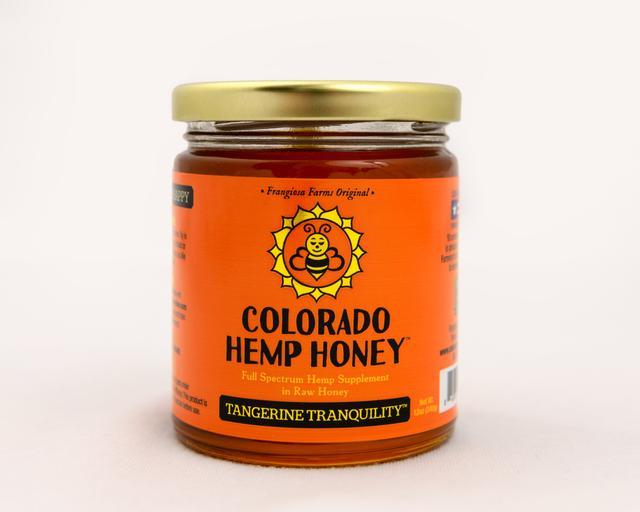 Colorado Honey Tangerine Tranquility FS Extract Jar, 12-oz (1000-mg)