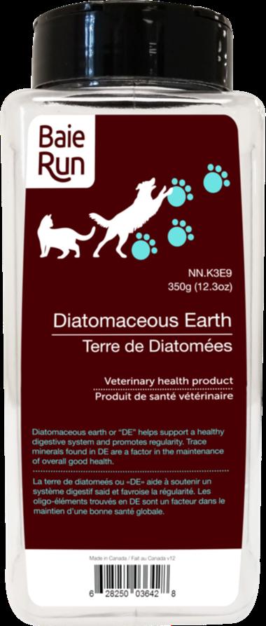Baie Run Diatomaceous Earth Dog Supplement, 600-gram