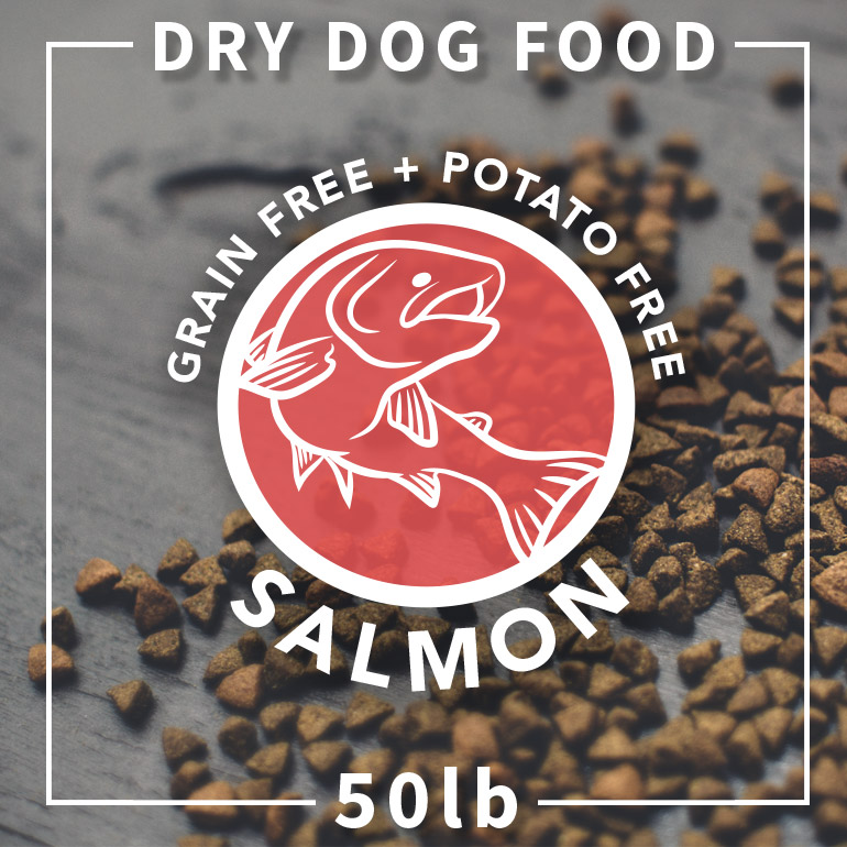 Naked DOG Salmon Grain-Free Potato-Free Dry Dog Food, 50-lb Size: 50-lb