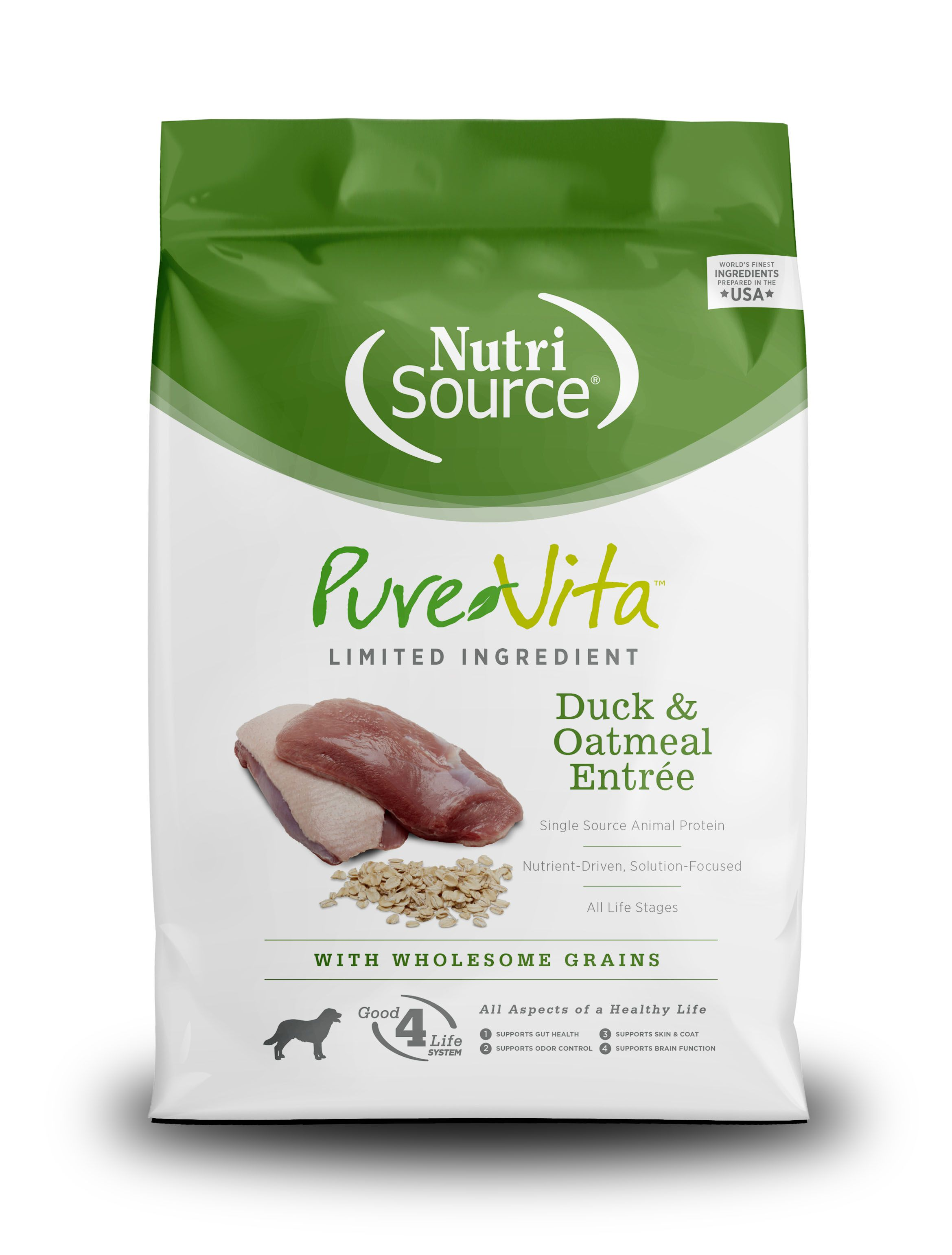 PureVita Duck And Oatmeal Dry Dog Food Image