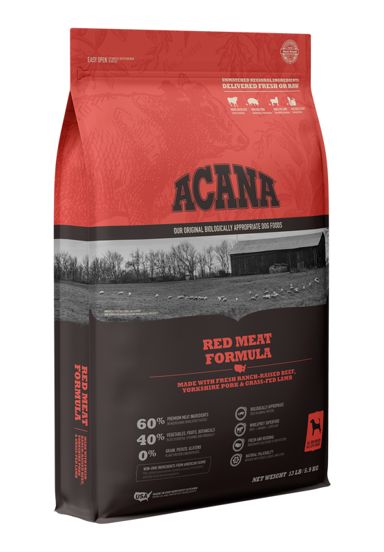 ACANA Dog Red Meat Formula, 4.5-lb