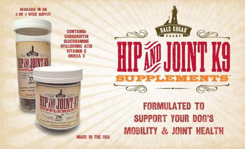 Dale Edgar Hip & Joint K9 Wafers Dog Supplement, 28-count