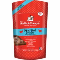 Stella & Chewy's Dandy Lamb 1.5-oz Dinner Patties Grain-Free Raw Frozen Dog Food, 3-lb