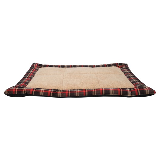 Dogit DreamWell Dog Sleeping Mat, Red Tartan, 31-in x 23.5-in x 1.5-in