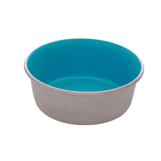 Dogit Stainless Steel Non-Skid Dog Bowl, Blue Image