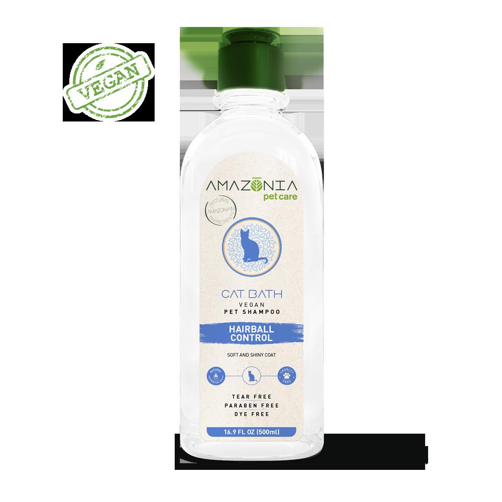 Amazonia Cat Bath Shampoo, 16.9-oz