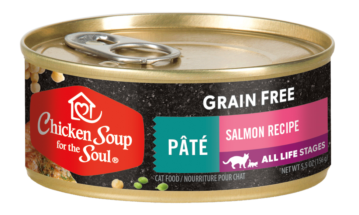 Chicken Soup Grain Free Salmon Pate for Cats, 5.5-oz Image
