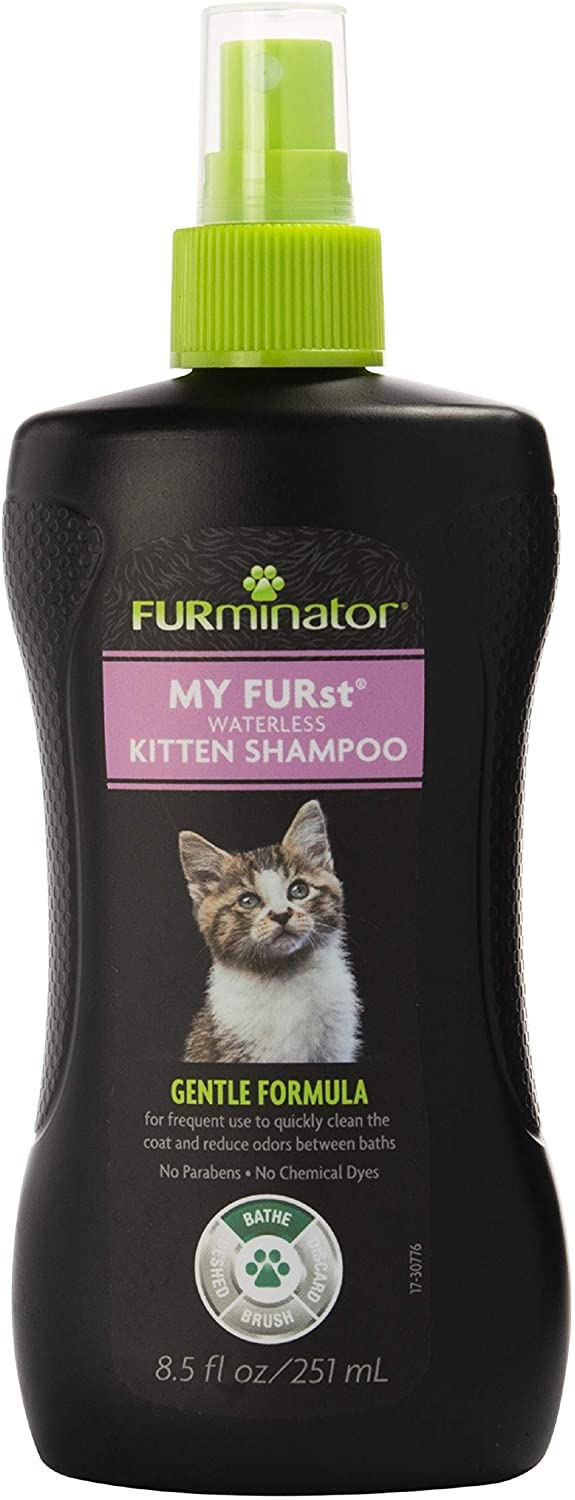 FURminator My Furst Waterless Shampoo for Kittens, 8.5-oz bottle Image