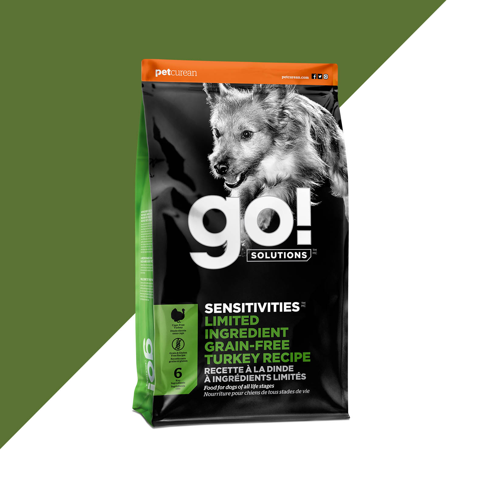 Go! Solutions Sensitivities Limited Ingredient Turkey Grain-Free Dry Dog Food Image