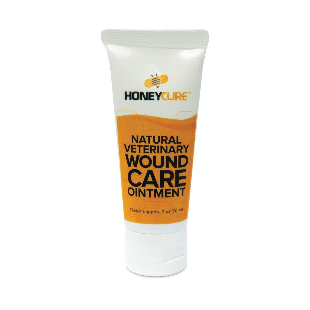 HoneyCure Manuka Honey Tube Vet Wound Care Ointment, Wound Care, 2-oz