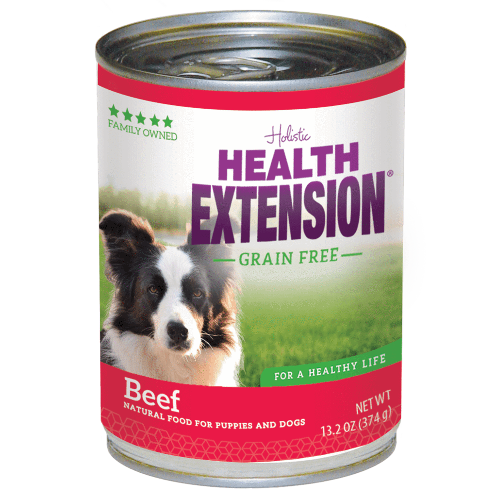 Health Extension Grain-Free Beef Entree Canned Dog Food, 13.20-oz