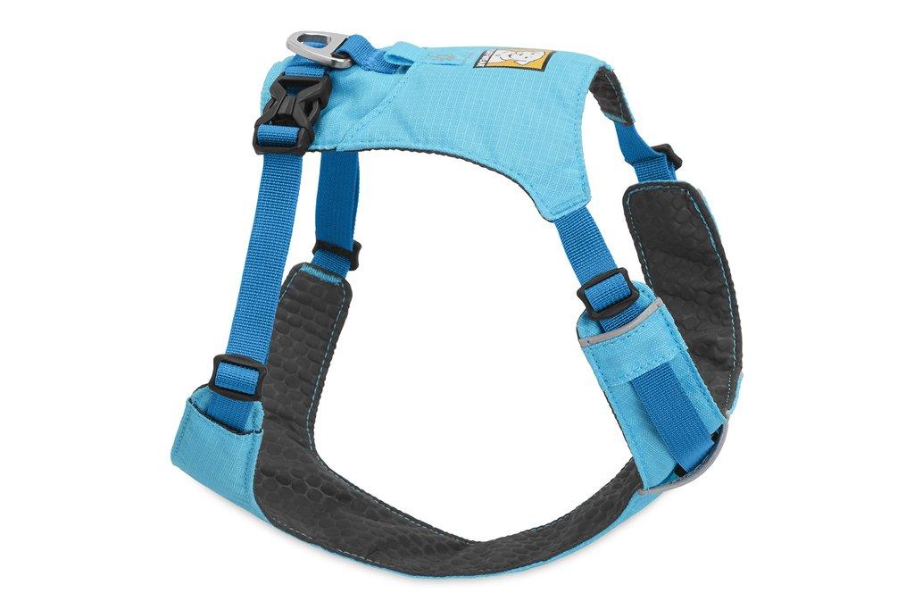 Ruffwear Hi & Light Dog Harness, Blue Atoll, Small