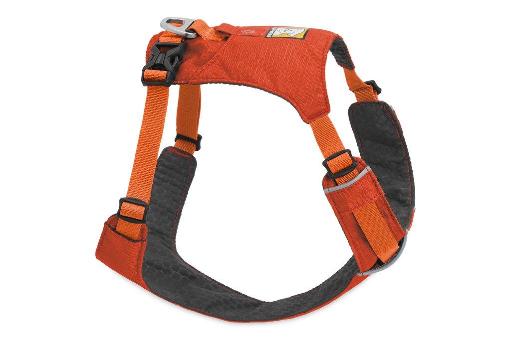 Ruffwear Hi & Light Dog Harness, Sockeye Red, Small