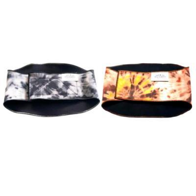 Jack & Jill Dog Diapers Male Dog Belly Band, Black/Grey, Medium
