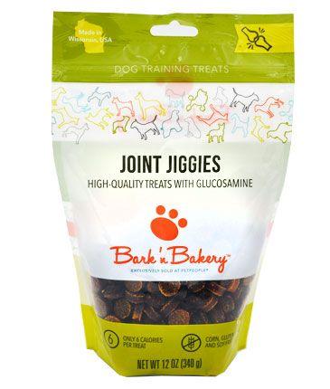 Bark 'n Bakery Joint Jiggies with Glucosamine Training Dog Treats, 12-oz