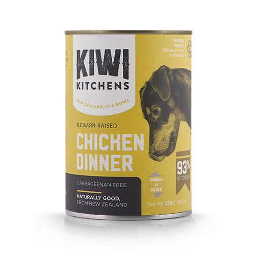 Kiwi Kitchens Chicken Dinner Wet Dog Food, 13.2-oz
