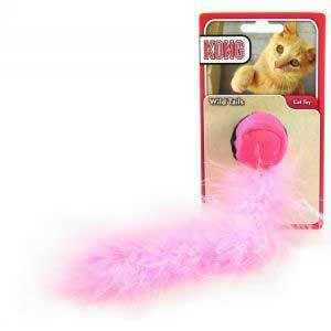 KONG Wild Tails Cat Toy, Color Varies