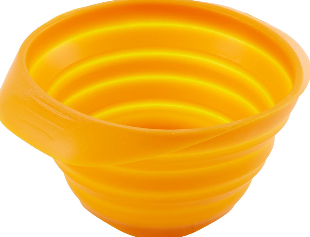 Kurgo Collaps-A-Bowl Pet Bowl, Orange (Color: Orange) Image