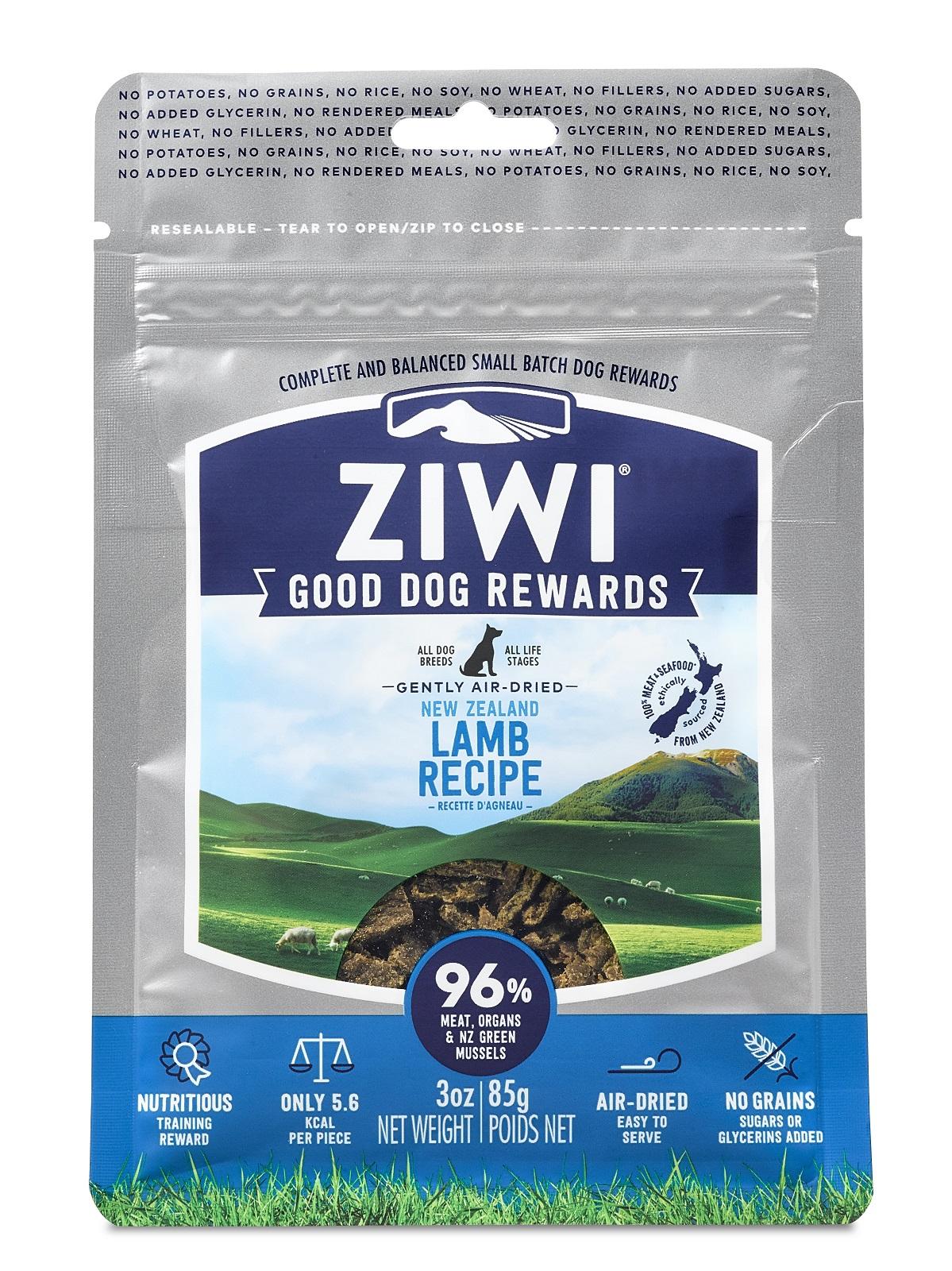 ZIWI Good Dog Rewards Lamb Recipe Air-Dried Dog Treats, 3-oz (Size: 3-oz, Weights: 3ounces) Image