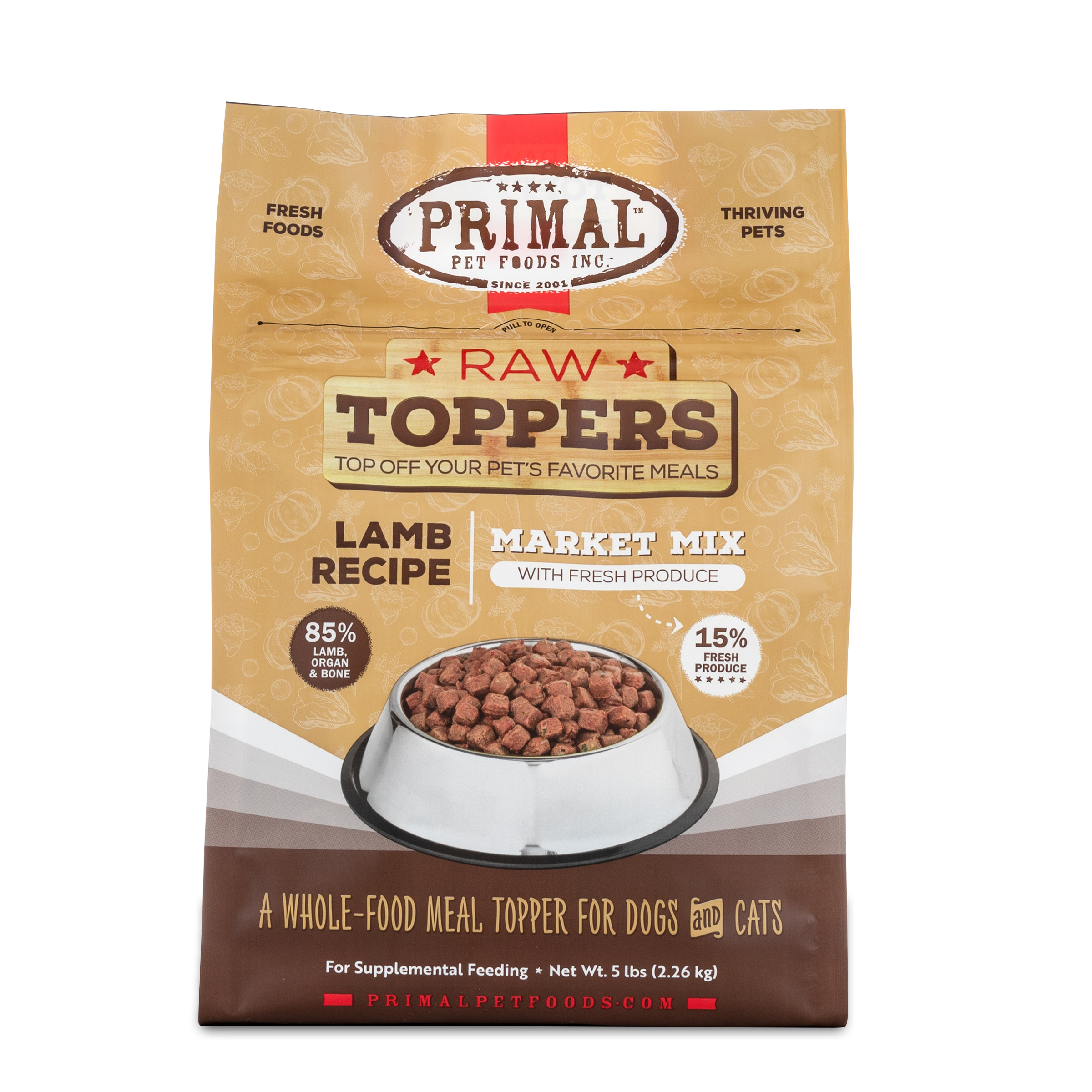 Primal Lamb Market Mix Topper, 5-lb