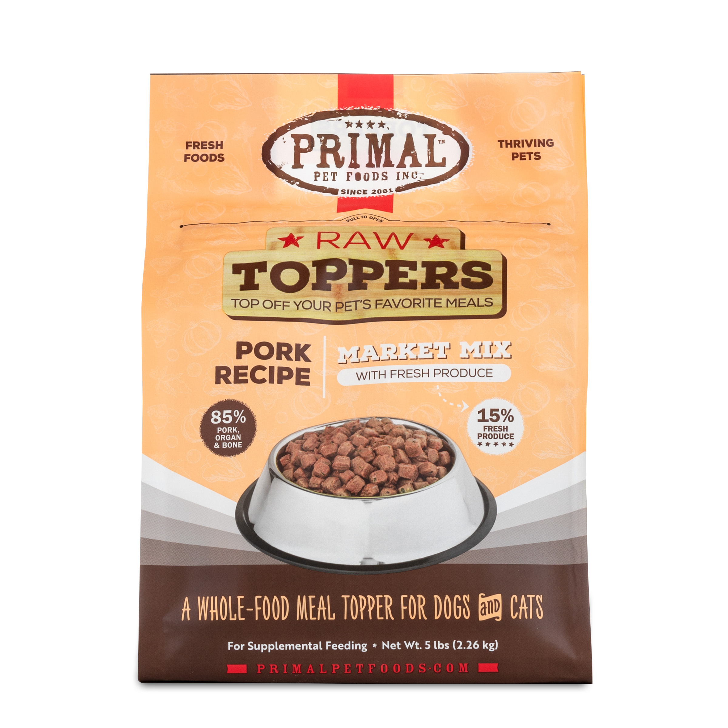 Primal Pork Market Mix Topper, 5-lb