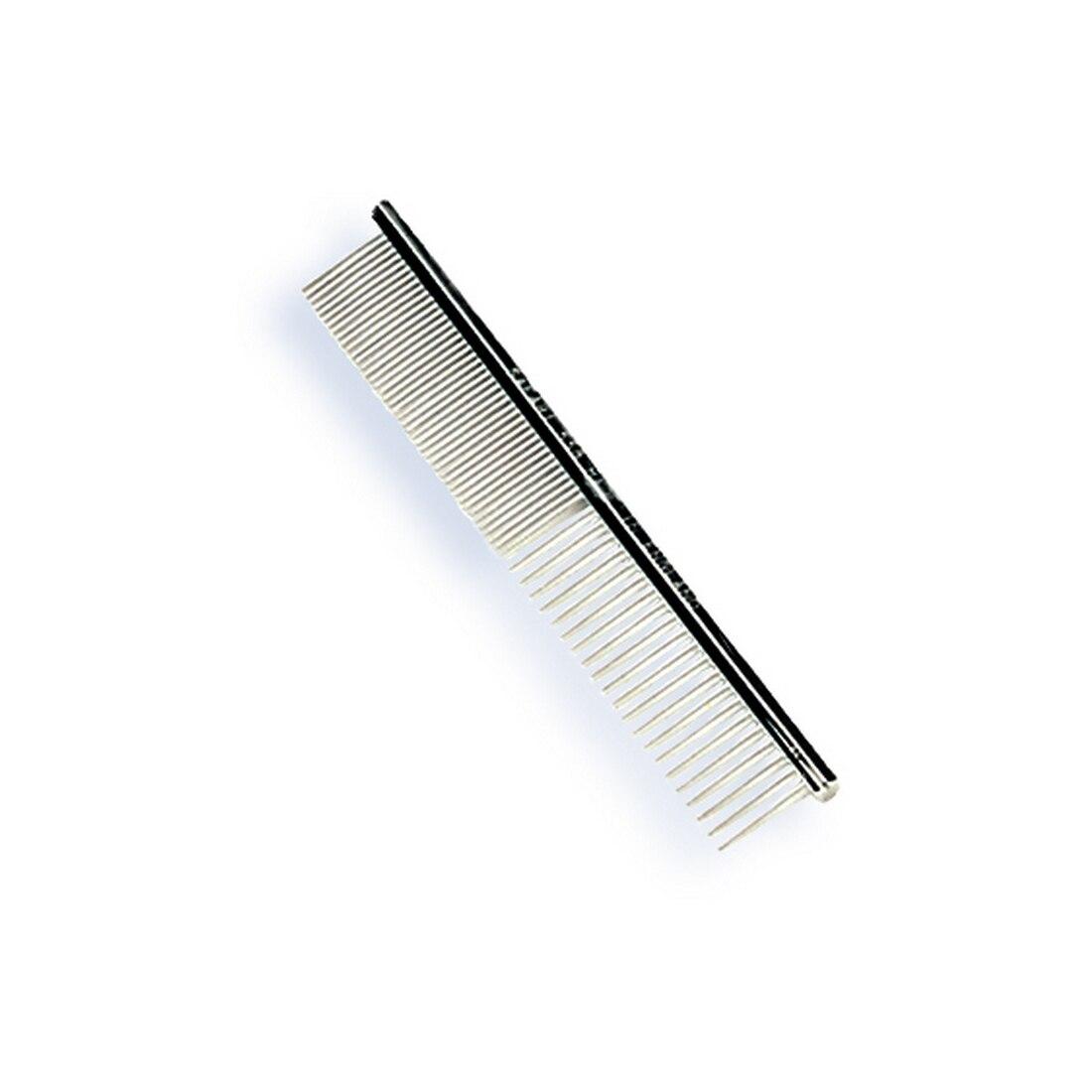 Safari Medium/Fine Metal Dog Comb, 4.5-in