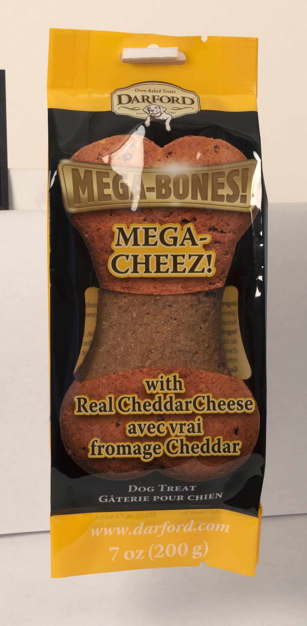 Darford Mega Cheez Bone Dog Treat, 7-oz