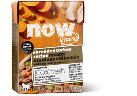 Now Fresh Small Breed Shredded Turkey Wet Dog Food Image
