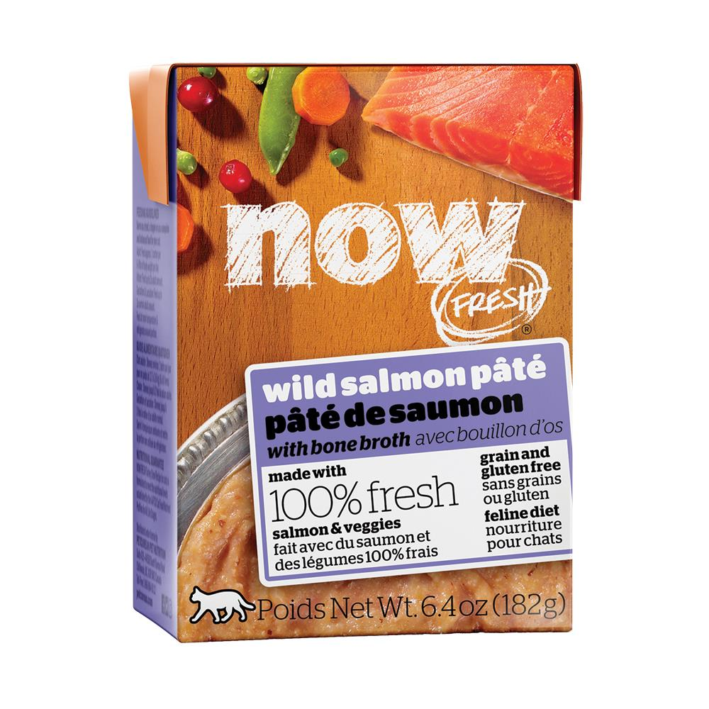 Now Fresh Grain-Free Wild Salmon Pate Wet Cat Food Image