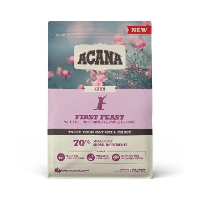 ACANA First Feast Kitten Dry Cat Food, 1.8-kg