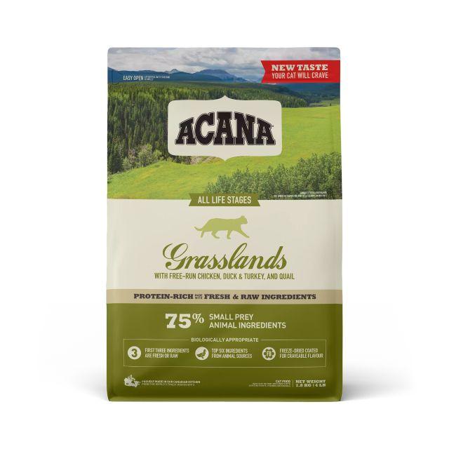 ACANA Grasslands Dry Cat Food, 4.5-kg