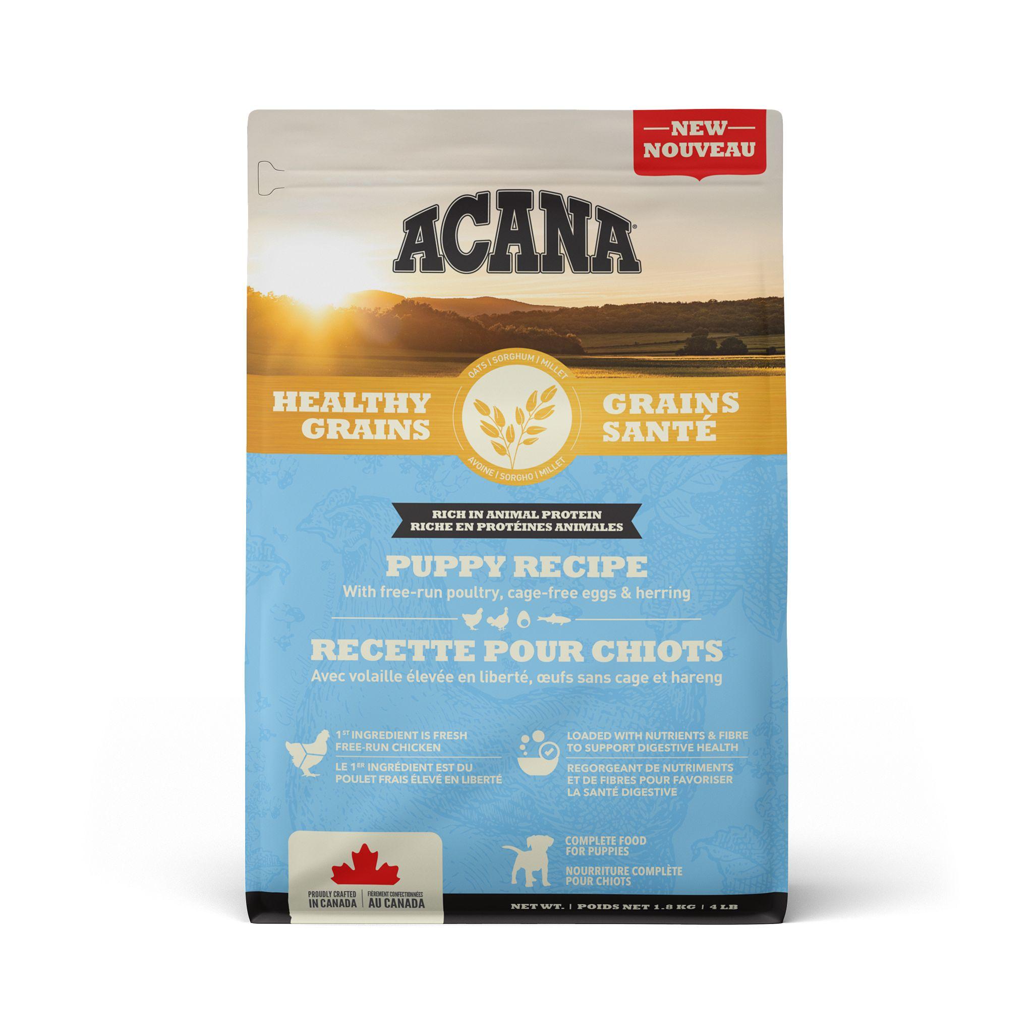 ACANA Healthy Grains Puppy Recipe, 1.8-kg