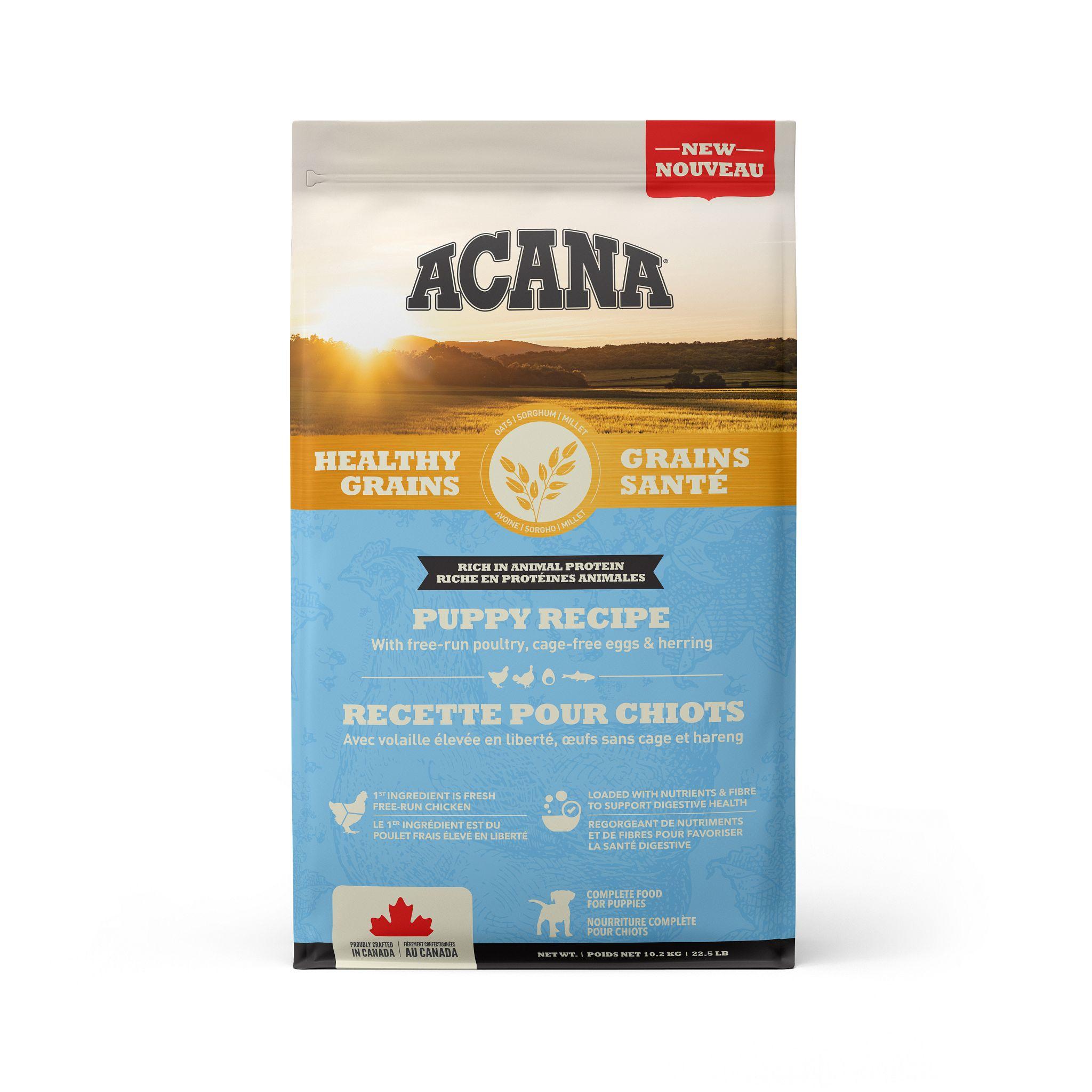 ACANA Healthy Grains Puppy Recipe, 10.2-kg