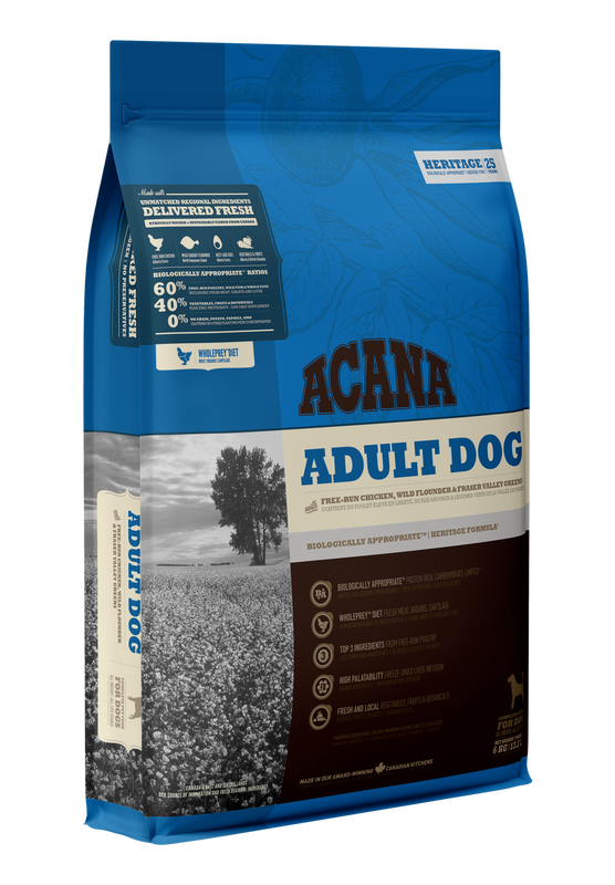 Acana Adult Dry Dog Food, 2-kg
