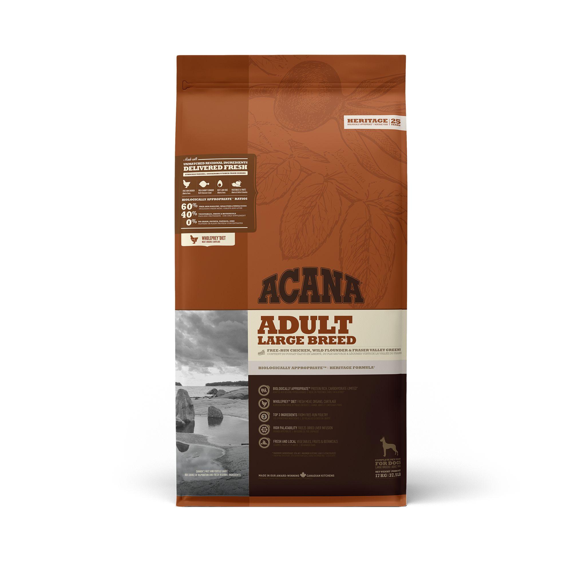Acana Adult Large Breed Dry Dog Food Image