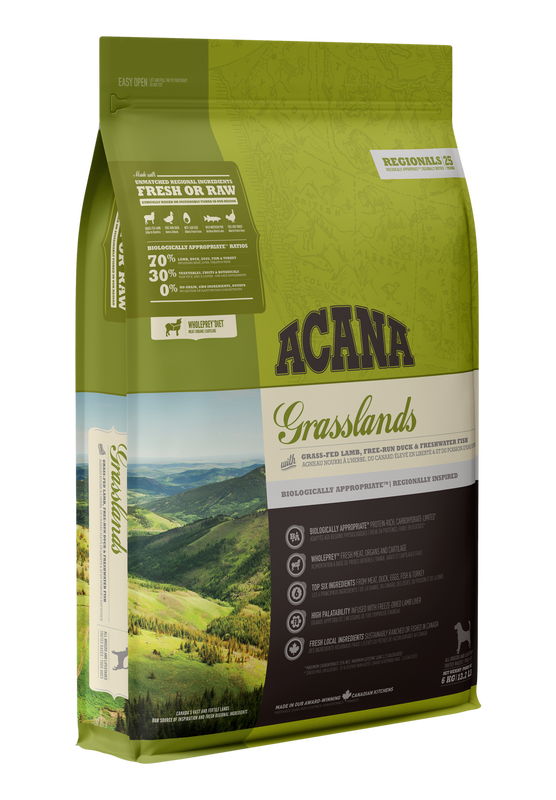 Acana Grasslands Dry Dog Food, 6-kg