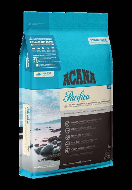 Acana Pacifica Dry Cat Food, 1.8-kg