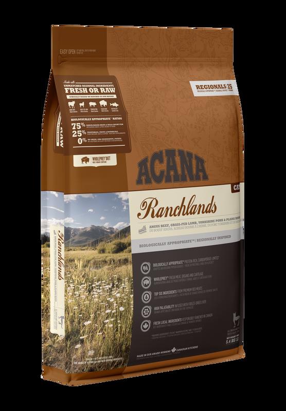 Acana Ranchlands Dry Cat Food, 5.4-kg