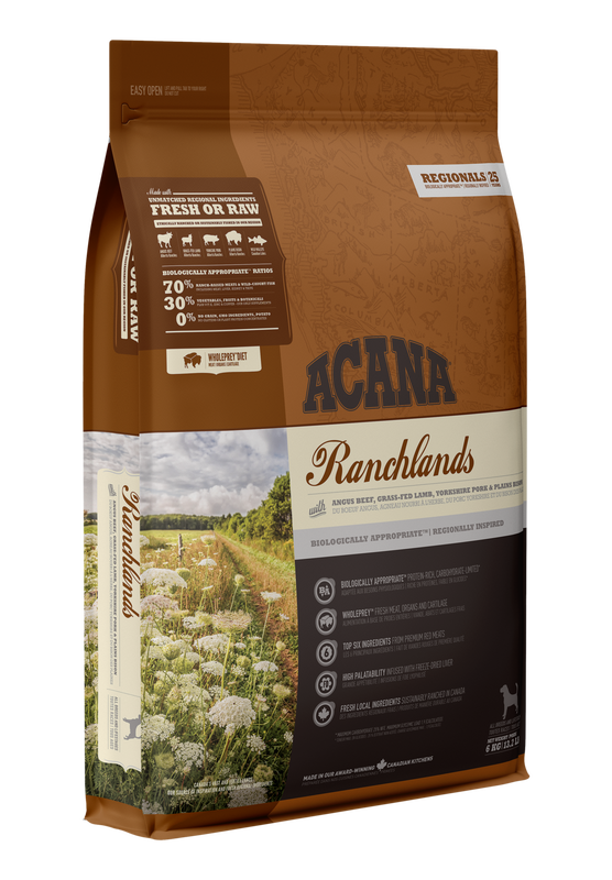 Acana Ranchlands Dry Dog Food, 340-gram