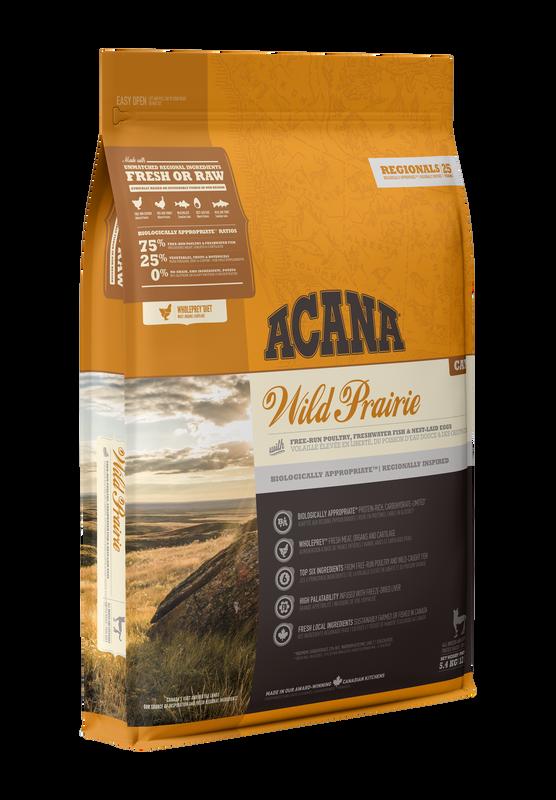 Acana Wild Prairie Dry Cat Food, 1.8-kg