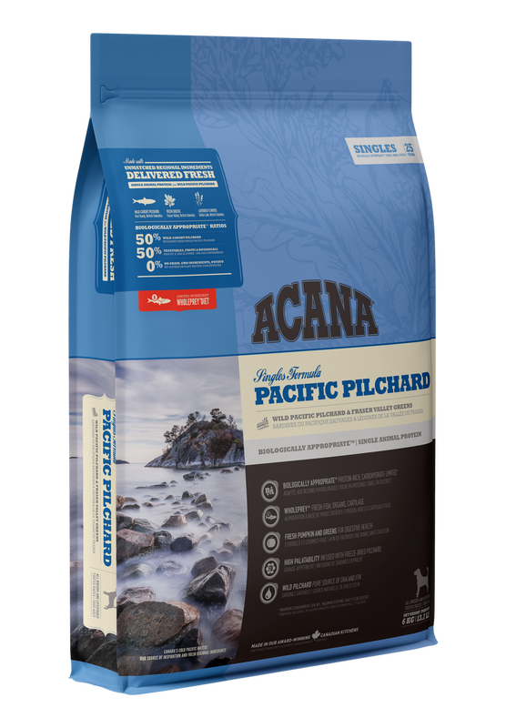 Acana Singles Pacific Pilchard Dry Dog Food, 2-kg