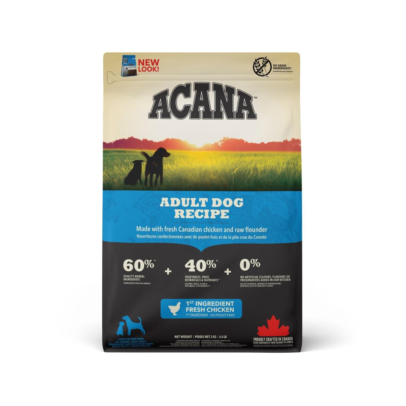 Acana Adult Dry Dog Food, 340-gram