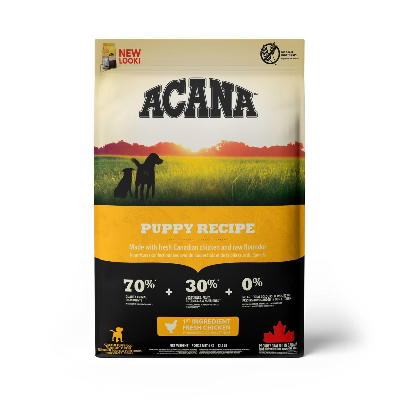 Acana Puppy Dry Dog Food, 6-kg