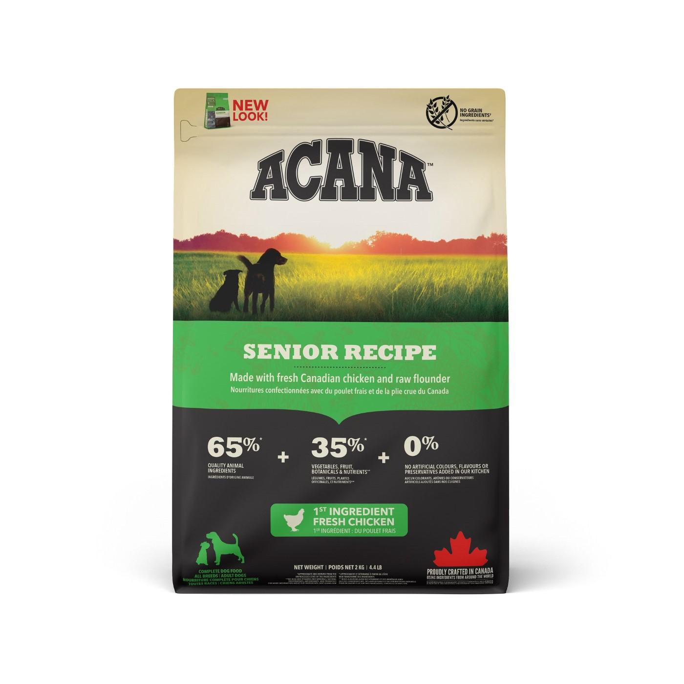 Acana Senior Dry Dog Food, 340-gram