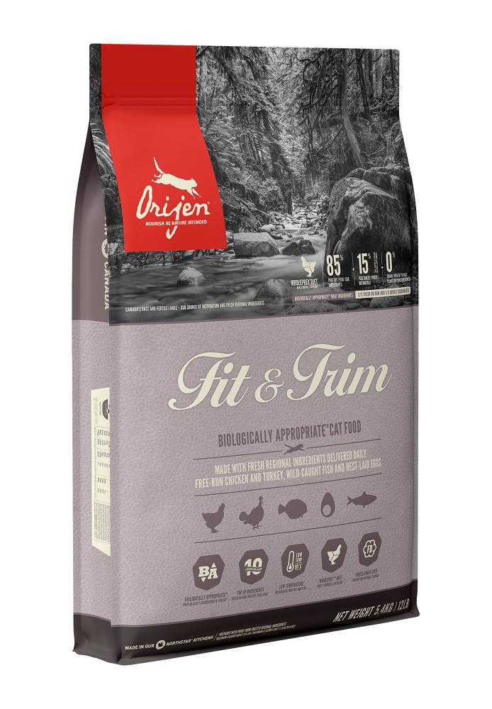 Orijen Fit & Trim Dry Cat Food, 5.4-kg