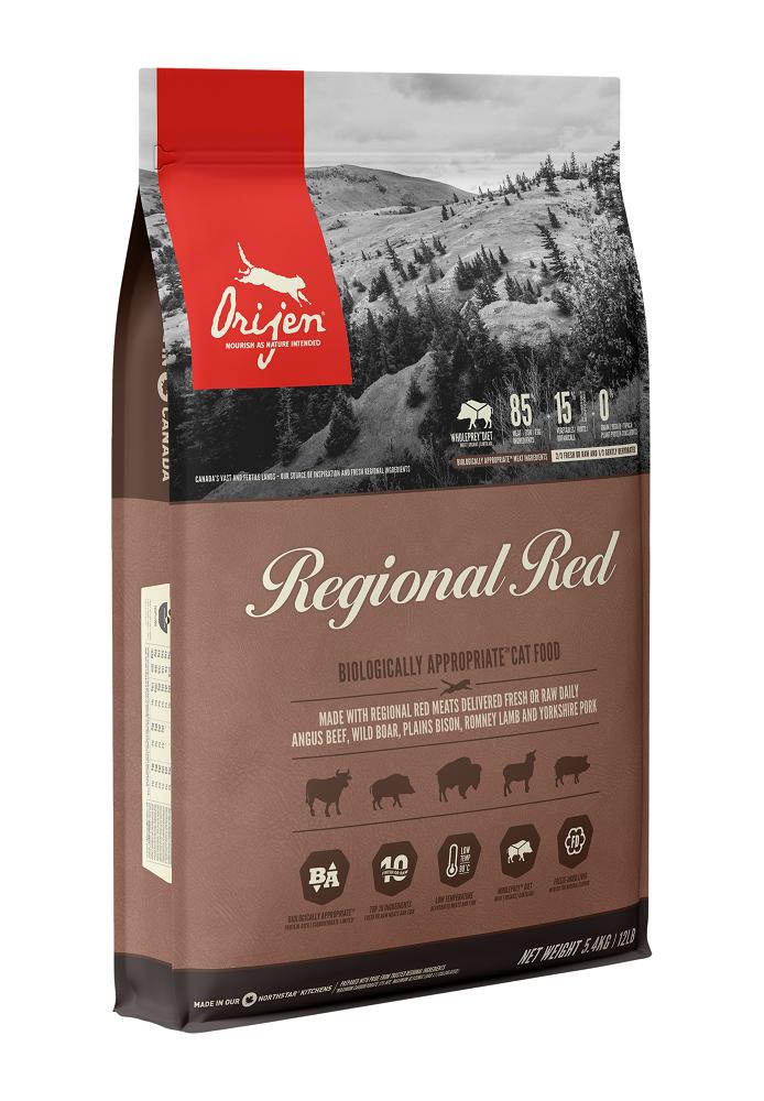 Orijen Regional Red Dry Cat Food Image